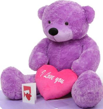 Send teddy bear to philippines blue magic teddy bears teddy bear view details 36 lavender pillow us8975 4 ft giant teddy bear altavistaventures Image collections