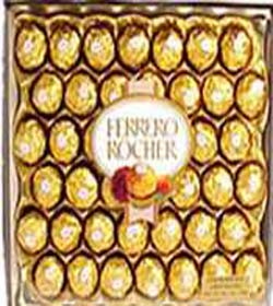 40 pieces ferrero