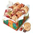 Cookies in square box