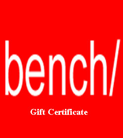 Bench Gift Certificate