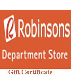 Robinsons Gift Certificate