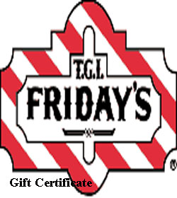 Friday's Gift Certificate