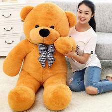 36 inches light brown teddy
