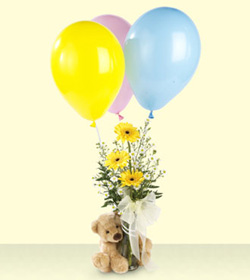 Balloon w/teddy
